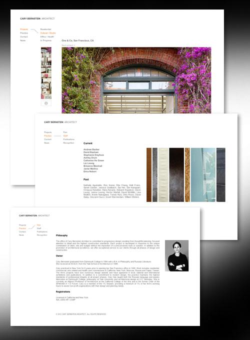 CARY BERNSTEIN  ARCHITECT